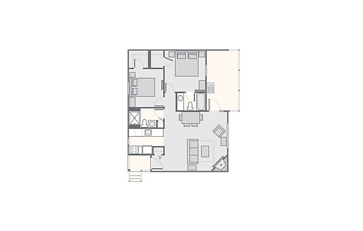 christmas-mountain-village-b3-2bdr-timber-floor-plan