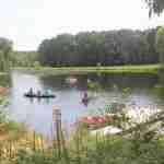 my-friends-cabin-wisconsin-dells-activities-area-kayak-lagoon-free-canoe-firepit-christmas-mountain-resort