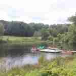 my-friends-cabin-wisconsin-dells-activities-paddle-boats-kayak-lagoon-canoe-firepit-christmas-mountain-resort