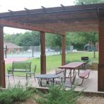 my-friends-cabin-wisconsin-dells-picnic-area-grills-christmas-mountain-resort